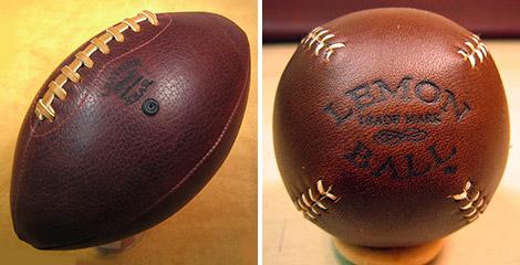 Leather Heads & Lemon Balls