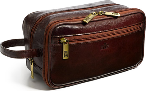 Indiana Leather Dopp Kit