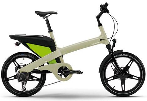 GoCycle · +e trianel Winora-town-exp-green