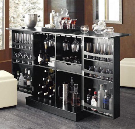 Crate & Barrel Steamer Bar