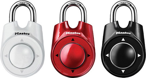 Master Lock Speed Dial Padlock