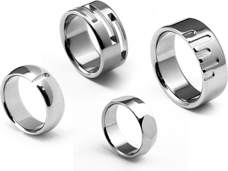 Design22Ti Titanium Rings
