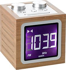 Dolmen Bamboo Clock Radio