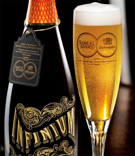 Sam Adams Infinium Beer