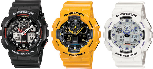 Casio G-Shock GA100 X-Large G