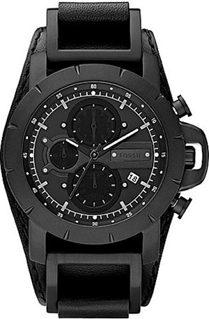 Fossil Chrono Black