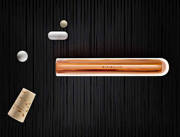 Minimalux Copper Pill Tube