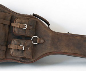 Whipping Post Leather Guitar Case