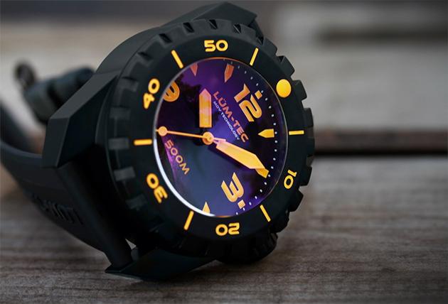 Lum-Tec 500M-3 Diver Watch