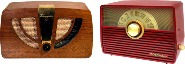 Antique Tube Radios