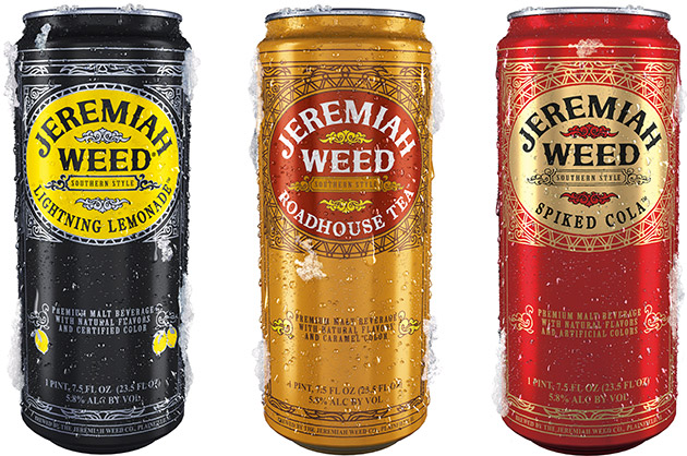 Jeremiah Weed Malt Beverages