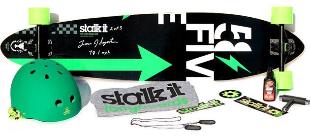 Stalk It 58Five Landspeed Longboard