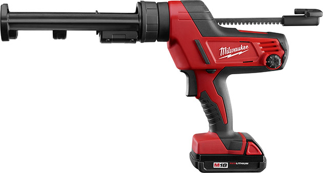 Milwaukee M18 Cordless Caulk Gun