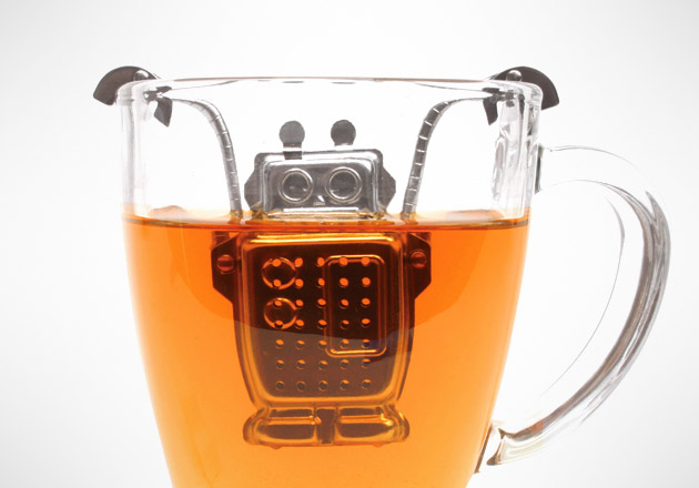 Armed with Technology Robot Tea Infuser
