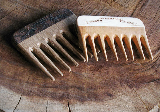 Offerman Woodshop Mustache Comb