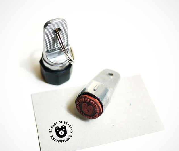 Cranky Pressman Inspector Stamp