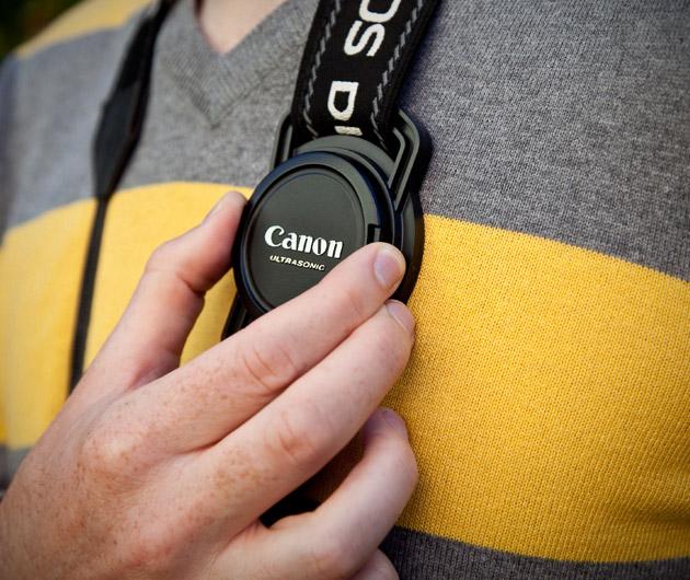 Lens Cap Strap Holder