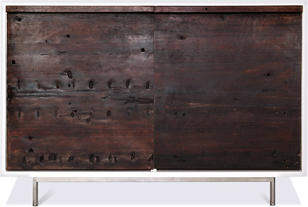 Shipwood Dark Cabinet II