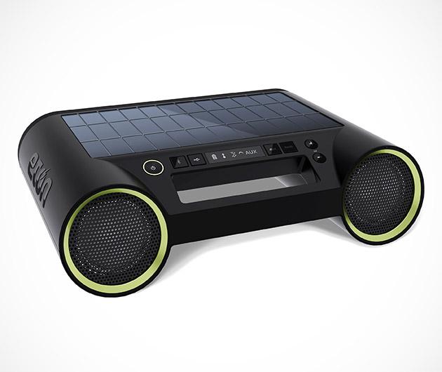 Eton Rukus Solar Bluetooth Boombox
