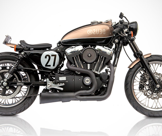 Deus Bald Terrier 1200 Motorcycle