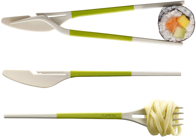 Twin One Utensil Set