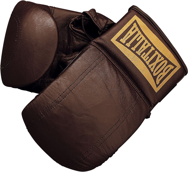 Seletti Leather Boxing Gloves