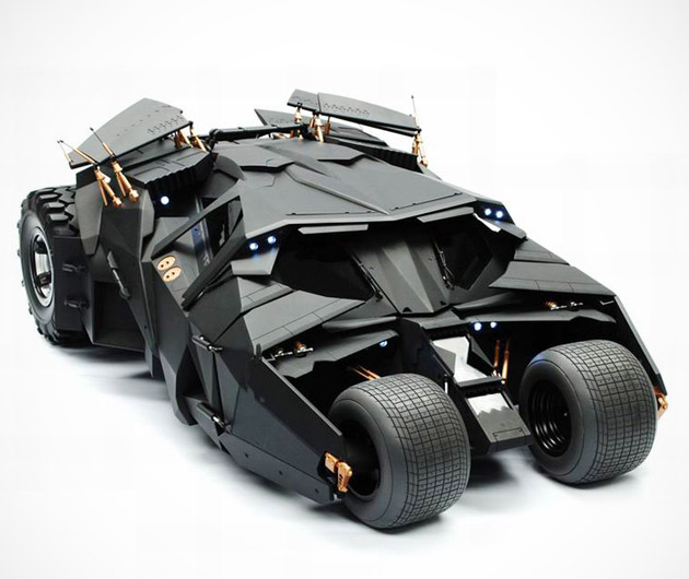 The Dark Knight Batmobile Tumbler