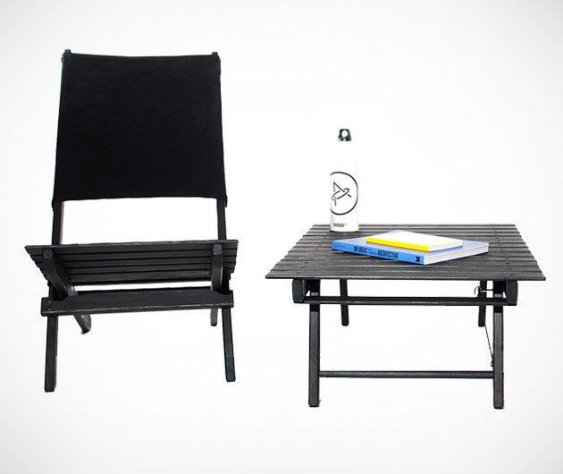Aether Beach Chairs & Table