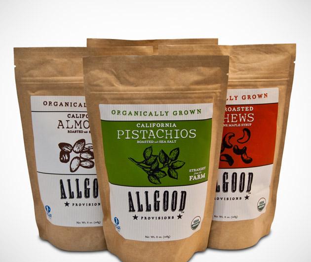 Allgood Provisions Organic Snacks