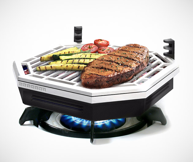BrassÉ Element Indoor Smokeless BBQ