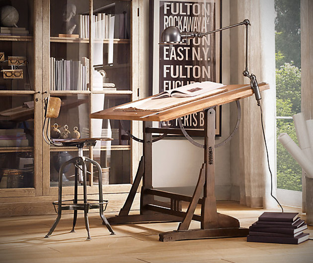 1920's French Drafting Table