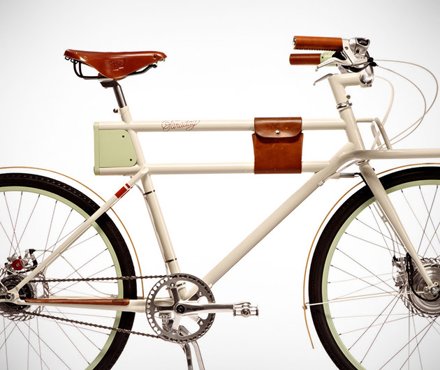 Faraday Porteur Bike