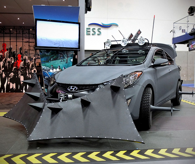 Hyundai Zombie Survival Machine