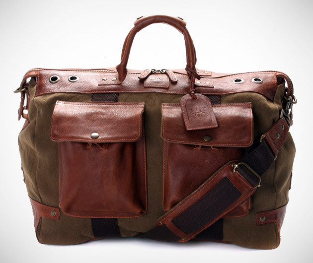 Will Leather Goods Hemingway Duffle