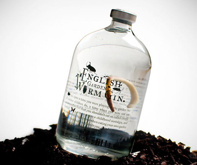 English Garden Worm Gin