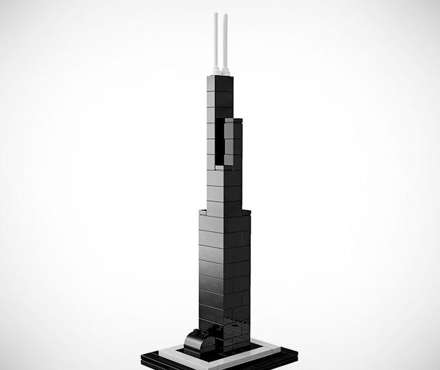 Willis Tower Lego Lego Architecture Willis Tower