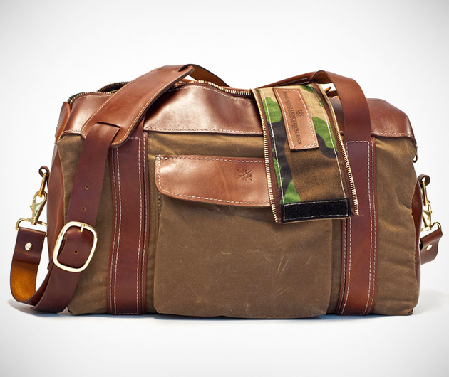 Hellbrand Leather Smugglers Duffel
