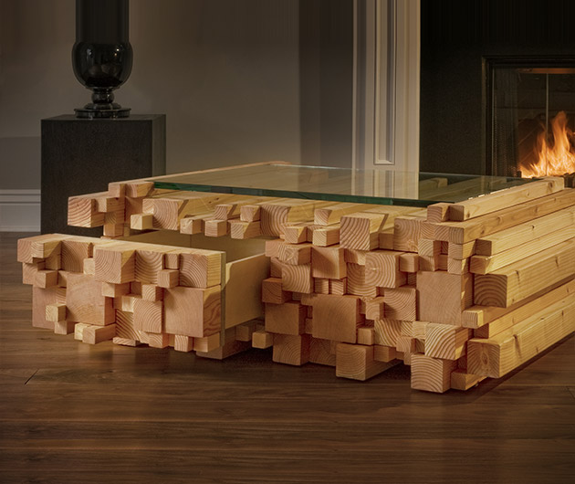 Log-Pile-Coffee-Table
