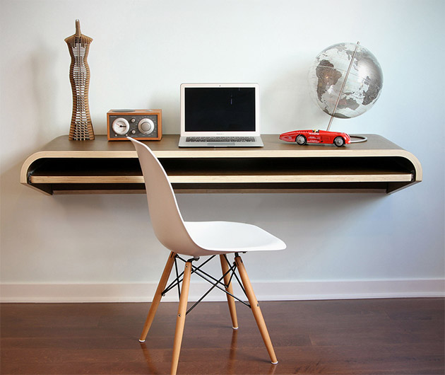 Float Wall Desk