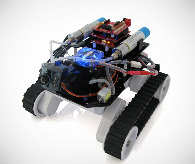 Fuel cell-powered H-ROVER