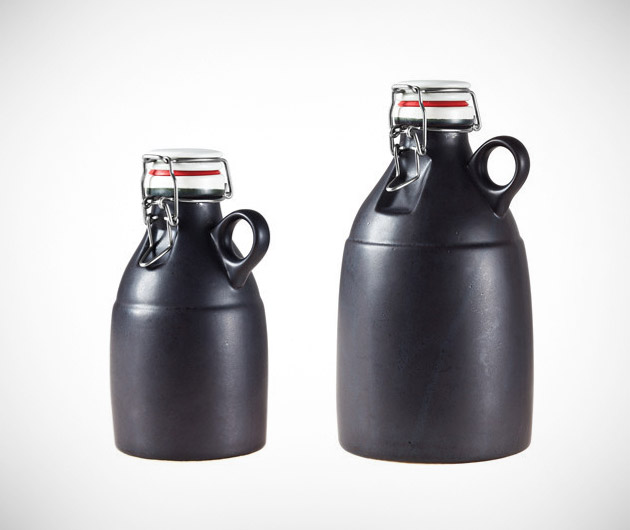 Handmade Ceramic Growler