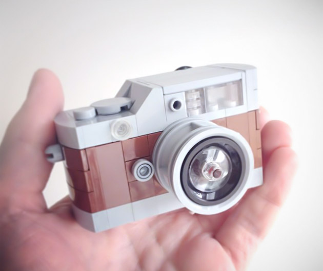 Lego Mini Camera Custom