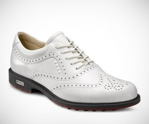 Ecco Tour Hybrid Wingtip Golf Shoes