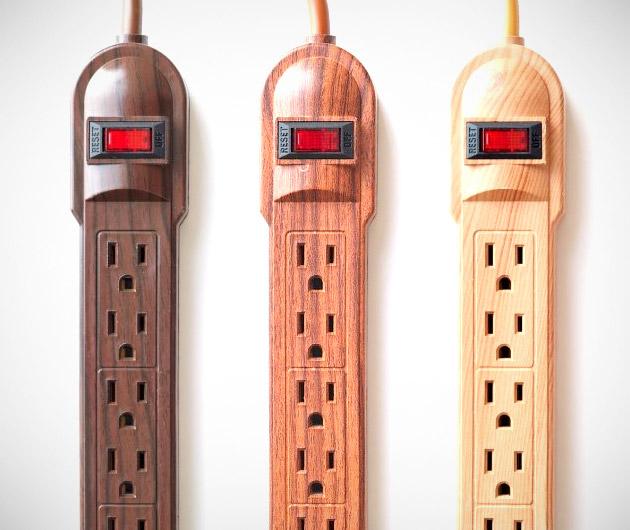 invisiplug-wood-grain-power-strips