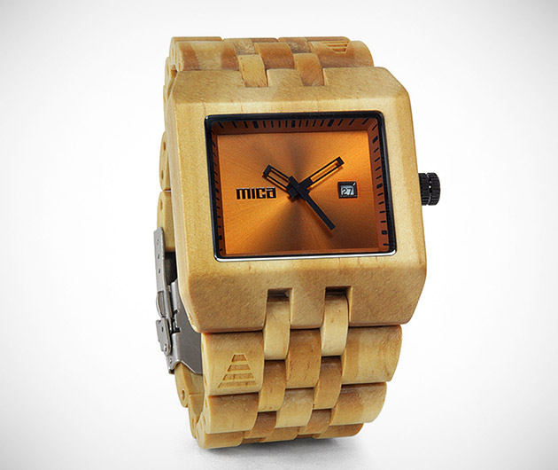 Mica Wood Watches