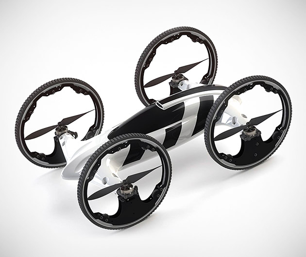 B Remote-Controlled Flying Car/Helicopter