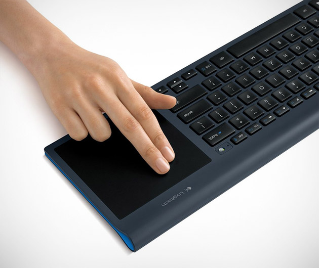 Logitech All-In-One Keyboard with Touchpad