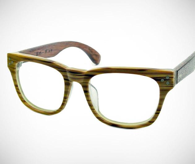 See. Saw. Seen Eyewear Wood Collection