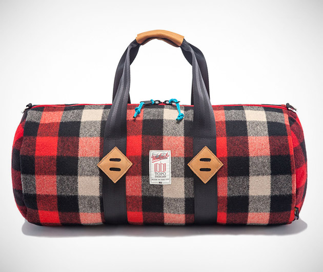 Woolrich x Topo Design Bags