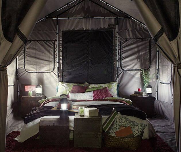 Barebones Safari Tent